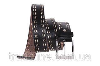Мужской ремень Dovhani D-30484 115 см Черный, фото 2