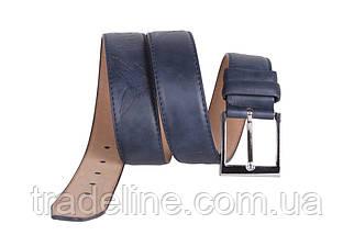 Мужской ремень Dovhani D-76487 115 см Синий, фото 2