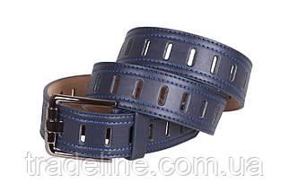 Мужской ремень Dovhani 350747491 115 см Синий, фото 2