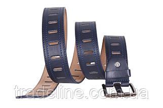 Мужской ремень Dovhani 350747491 115 см Синий, фото 3