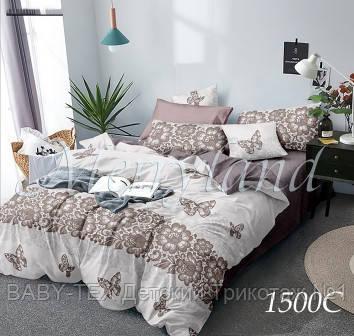 Комплект постельного белья с компаньоном Merryland поплин Двуспальный 1500С
