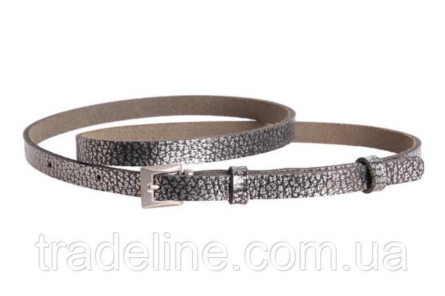 Женский узкий ремень Dovhani 49182503 105-115 см Серебристый, фото 2