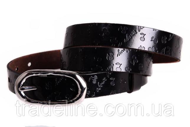 Женский узкий ремень Dovhani кт6485521 105-115 см Темно-Коричневый, фото 2