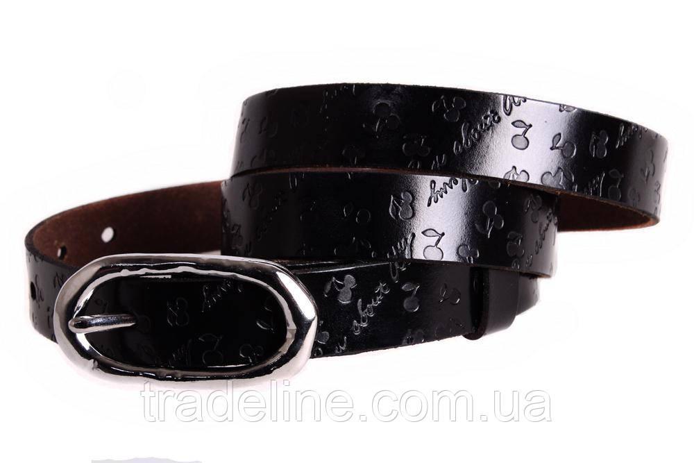 Женский узкий ремень Dovhani кт6485521 105-115 см Темно-Коричневый