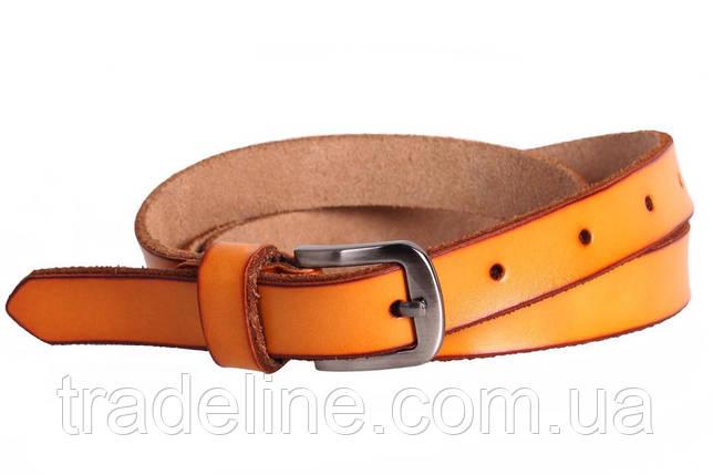Женский узкий ремень Dovhani кт6647528 105-115 см Оранжевый, фото 2