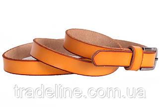 Женский узкий ремень Dovhani кт6647528 105-115 см Оранжевый, фото 3