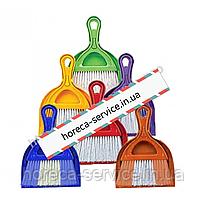 Комплект для уборки совок+щетка Dust Set AF201 микс цветов.