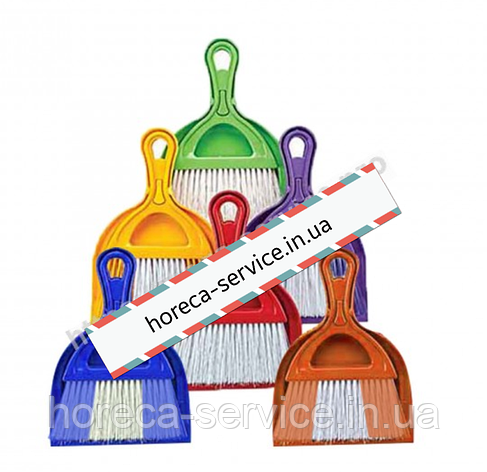 Комплект для уборки совок+щетка Dust Set AF201 микс цветов., фото 2