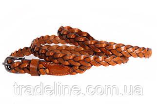 Женский узкий ремень Dovhani кт6707532 105-115 см Коричневый, фото 3