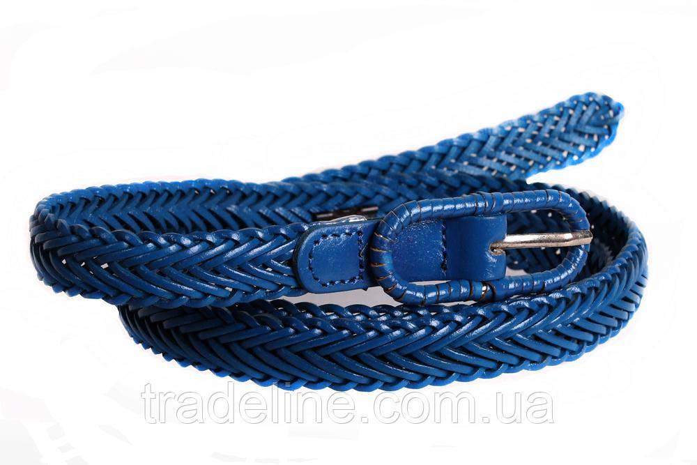 Женский узкий ремень Dovhani кт6753536 105-115 см Голубой