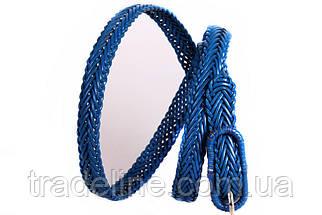 Женский узкий ремень Dovhani кт6753536 105-115 см Голубой, фото 2