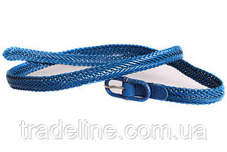 Женский узкий ремень Dovhani кт6753536 105-115 см Голубой, фото 3