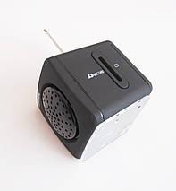 Портативная колонка-радио WS-909RL MP3/SD/USB/AUX/FM/LED, фото 2