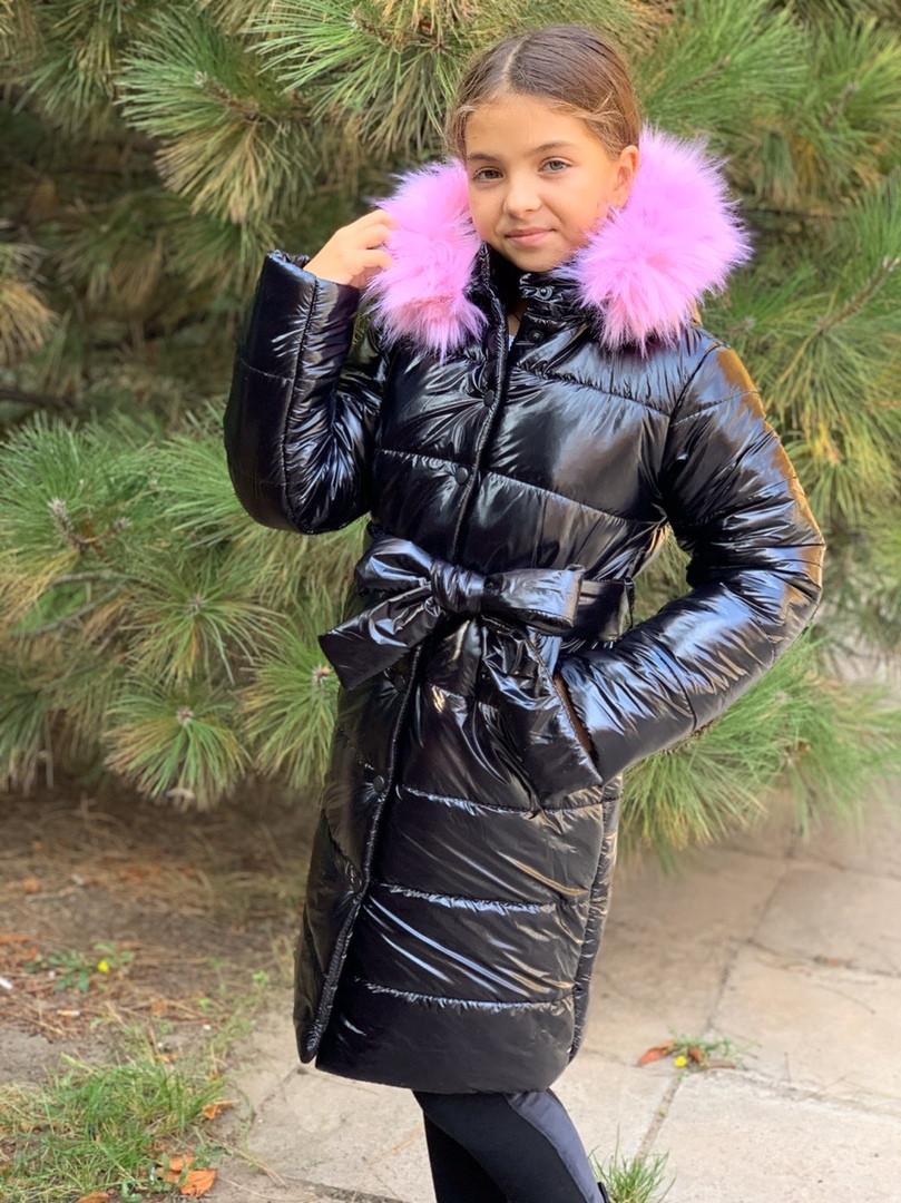 Пальто зимнее для девочки Рост :134;140;146;152