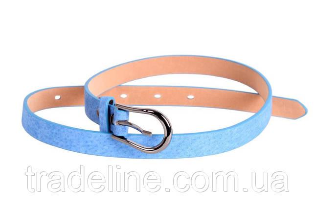 Женский узкий ремень Dovhani 49167557 105 см Голубой, фото 2
