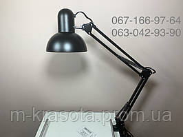 Лампа настольная МT-800  на струбцине черная