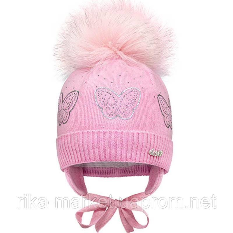 Зимняя шапка для девочки, Davidstar 1909 , от 12 до 18 месяцев