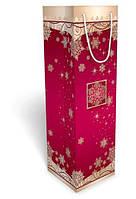 """Пакет подарочный 36,8 х 11 х11 см.""""Новогодний"""" 38.015 для шампанского"""
