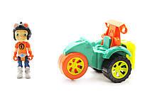 Игровой набор Герой Расти Механик Лиам на трицикле Разноцветный (50089)