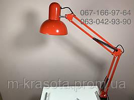 Лампа настольная №МТ-800 для мастера красная