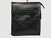 Акция! Мужская сумка Polo Leather+ Клатч Baellerry Italia Подарок!, фото 2