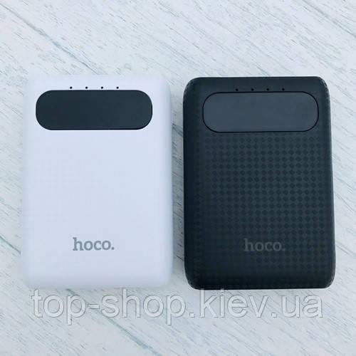 Портативное зарядное устройство HOCO B20 MIGE с LED экраном 10000 mah