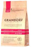 Сухой корм Grandorf Lamb & Brown Rice ADULT INDOOR с ягненком для взрослых кошек всех пород