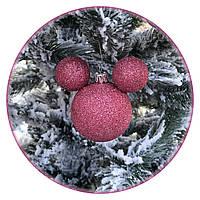 """Игрушка на елку """"Мики символ года"""" (70мм, розовый)"""