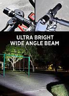 Велофонарь аккумуляторный BL-8626w, фото 1