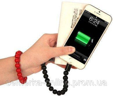 Кабель браслет Wearable Bracelet Charging Line