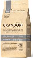Сухой корм Grandorf Rabbit & Brown Rice ADULT STERILIZED с кроликом для взрослых, пожилых кошек