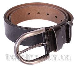 Женский кожаный ремень Dovhani 301126572 110-115 см Черный, фото 3