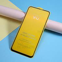 Защитное стекло 9D полная проклейка Samsung Galaxy A60 твёрдость 9H захисне скло