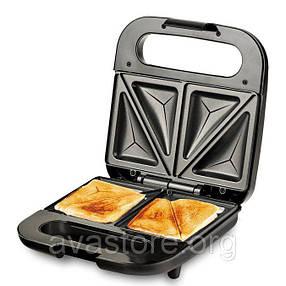 Бутербродница DSP KC1133 Sandwich Master аппетитные хрустящие горячие бутерброды, фото 2