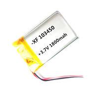 Аккумулятор литий-полимерный 1800mAh 3.7V 103450, фото 1