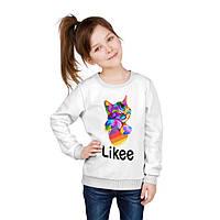 Детский свитшот Likee Cat