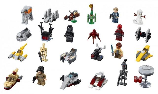 Адвент календар LEGO - Новогодний календарь Лего Star Wars 75213 (адвент календарь 307 Звездные войны)