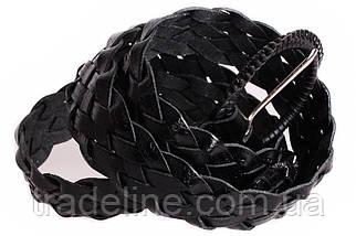 Женский плетеный ремень Dovhani PL4450580 110-115 см Черный, фото 3