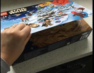 LEGO Адвент календар LEGO - Новогодний календарь Лего Star Wars 75213 (адвент календарь 307 Звездные войны)