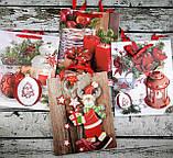 Пакет Новый год 26*32 см WB-482-3М 90273 Китай, фото 3