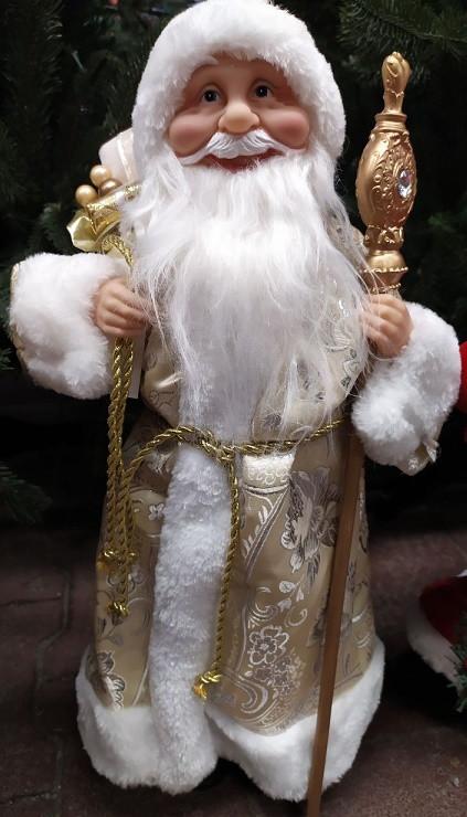 Дед Мороз золотой 46 см