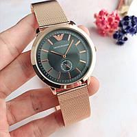 Наручные часы (копия) Emporio Armani золото с черным\TOP качество\