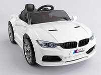 Эл-мобиль T-7633 EVA WHITE легковая на Bluetooth 2.4G Р/У 12V4.5AH мотор 2*15W с MP3 кол. 110*67*46