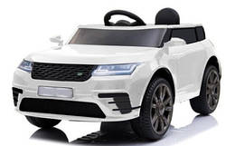 Эл-мобиль T-7834 EVA WHITE джип на Bluetooth 2.4G Р/У 12V4.5AH мотор 2*20W с MP3 112*66*52/1/