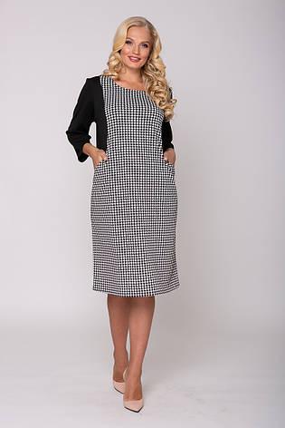Офисное платье больших размеров Сабина, фото 2