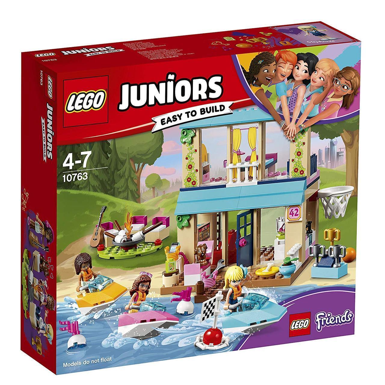 Lego 10763 Friends  Конструктор Лего Джуниорс Домик Стефани у озера