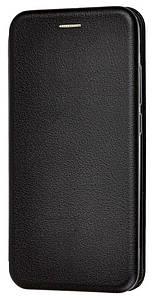 Чехол (книжка) премиум для Xiaomi Redmi Note 8чёрная