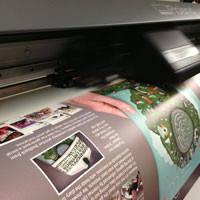 Печать на бумаге сити.(Фотокачество,экосольвент)