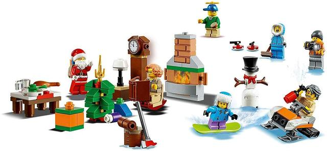 Advent Calendar 2018 Новогодний календарь LEGO Адвент календар 60235