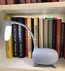 Дитяча настільна LED лампа NOUS S4 Blue 4W 2700-6500K з акумулятором, фото 8